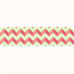 Modern Retro Chevron Patchwork Pattern Large Bar Mats