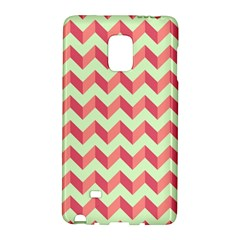 Modern Retro Chevron Patchwork Pattern Galaxy Note Edge