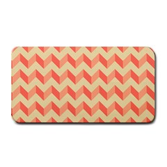 Modern Retro Chevron Patchwork Pattern Medium Bar Mats
