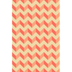 Modern Retro Chevron Patchwork Pattern 5.5  x 8.5  Notebooks