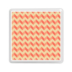 Modern Retro Chevron Patchwork Pattern Memory Card Reader (Square)