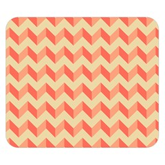 Modern Retro Chevron Patchwork Pattern Double Sided Flano Blanket (small)
