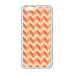 Modern Retro Chevron Patchwork Pattern Apple Seamless iPhone 6 Case (Color)