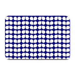 Blue And White Leaf Pattern Plate Mats