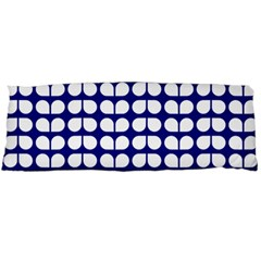 Blue And White Leaf Pattern Body Pillow Cases (dakimakura)