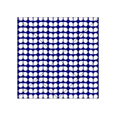 Blue And White Leaf Pattern Acrylic Tangram Puzzle (4  x 4 )