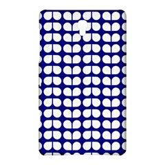 Blue And White Leaf Pattern Samsung Galaxy Tab S (8.4 ) Hardshell Case