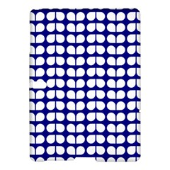 Blue And White Leaf Pattern Samsung Galaxy Tab S (10.5 ) Hardshell Case