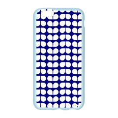 Blue And White Leaf Pattern Apple Seamless iPhone 6 Case (Color)