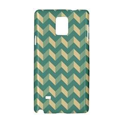 Modern Retro Chevron Patchwork Pattern Samsung Galaxy Note 4 Hardshell Case
