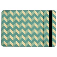 Modern Retro Chevron Patchwork Pattern iPad Air 2 Flip