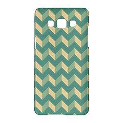 Modern Retro Chevron Patchwork Pattern Samsung Galaxy A5 Hardshell Case