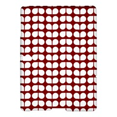 Red And White Leaf Pattern Samsung Galaxy Tab S (10 5 ) Hardshell Case