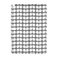 Gray And White Leaf Pattern Samsung Galaxy Note 10 1 (p600) Hardshell Case