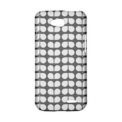 Gray And White Leaf Pattern LG L90 D410