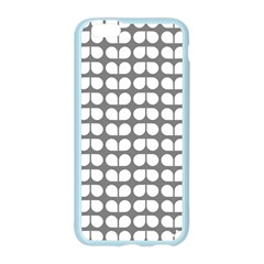Gray And White Leaf Pattern Apple Seamless iPhone 6 Case (Color)