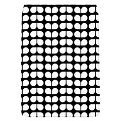 Black And White Leaf Pattern Flap Covers (s)