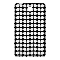 Black And White Leaf Pattern Samsung Galaxy Tab 4 (8 ) Hardshell Case