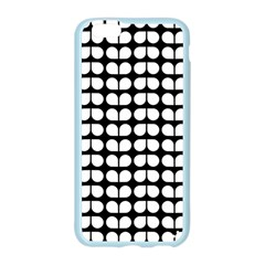 Black And White Leaf Pattern Apple Seamless iPhone 6 Case (Color)