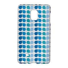 Blue Green Leaf Pattern Galaxy Note Edge