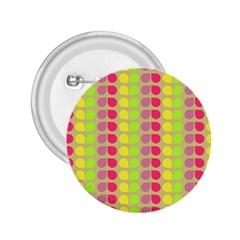 Colorful Leaf Pattern 2 25  Buttons
