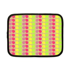 Colorful Leaf Pattern Netbook Case (small)
