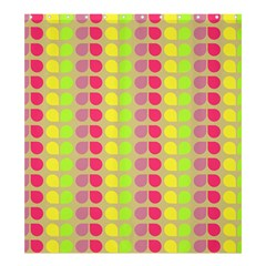 Colorful Leaf Pattern Shower Curtain 66  X 72  (large)