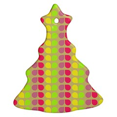 Colorful Leaf Pattern Ornament (Christmas Tree)