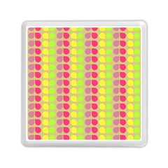 Colorful Leaf Pattern Memory Card Reader (Square)