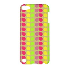 Colorful Leaf Pattern Apple Ipod Touch 5 Hardshell Case
