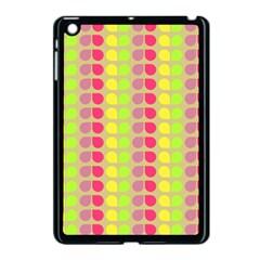Colorful Leaf Pattern Apple Ipad Mini Case (black)