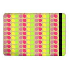 Colorful Leaf Pattern Samsung Galaxy Tab Pro 10 1  Flip Case