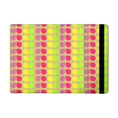 Colorful Leaf Pattern iPad Mini 2 Flip Cases