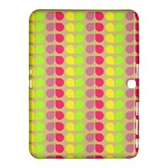Colorful Leaf Pattern Samsung Galaxy Tab 4 (10 1 ) Hardshell Case