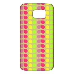 Colorful Leaf Pattern Galaxy S6