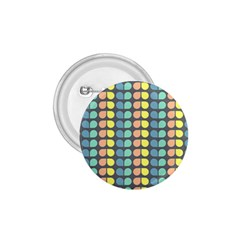 Colorful Leaf Pattern 1 75  Buttons