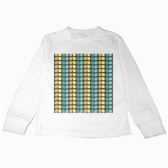 Colorful Leaf Pattern Kids Long Sleeve T-Shirts