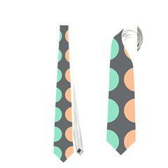 Colorful Leaf Pattern Neckties (one Side)