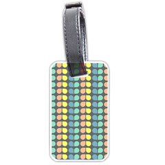 Colorful Leaf Pattern Luggage Tags (one Side)