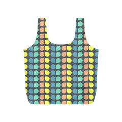 Colorful Leaf Pattern Full Print Recycle Bags (s)