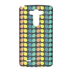 Colorful Leaf Pattern LG G3 Hardshell Case