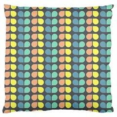 Colorful Leaf Pattern Standard Flano Cushion Cases (One Side)