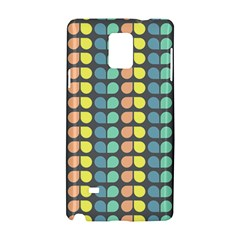Colorful Leaf Pattern Samsung Galaxy Note 4 Hardshell Case