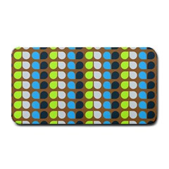 Colorful Leaf Pattern Medium Bar Mats