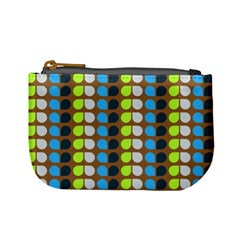 Colorful Leaf Pattern Mini Coin Purses