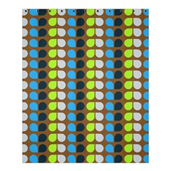Colorful Leaf Pattern Shower Curtain 60  x 72  (Medium)