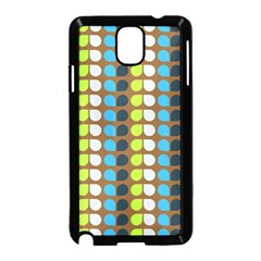 Colorful Leaf Pattern Samsung Galaxy Note 3 Neo Hardshell Case (black)