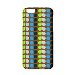 Colorful Leaf Pattern Apple iPhone 6 Hardshell Case