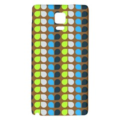 Colorful Leaf Pattern Galaxy Note 4 Back Case