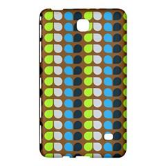 Colorful Leaf Pattern Samsung Galaxy Tab 4 (7 ) Hardshell Case